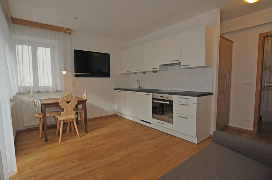 Wohnung B geeignet für 2+2 Personen - 40m2 St.Ulrich Gröden